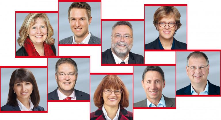 Die SPD-Fraktion im Kreistag München-Land.